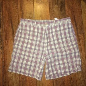 Vintage Vines plaid shorts